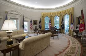 the newly renovated oval office the donald