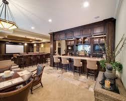 basement bar tile houzz