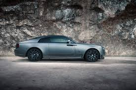 matte gray rolls royce would you tune a rolls royce wraith coupe like this