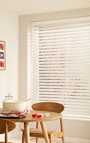 true white wooden blinds larger blinds fitted with patented