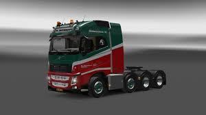 volvo truck 2016 volvo fh 2013 8x4 1 22 truck euro truck simulator 2 mods