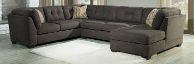 Ashley Furniture Leather Sectional With Chaise Buy Ashley Furniture 1970038 1970034 1970017 Delta City Steel Raf