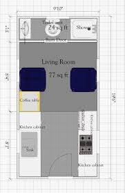 400 sq ft house floor plan free tiny house plan without loft under 400sq ft