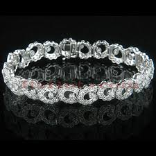 bracelet design diamond images 18k gold womens designer diamond bracelet 5 06ct jpg