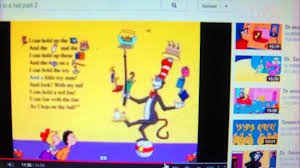 dr seuss the cat in a hat ball song lyrics 02 04 14 youtube