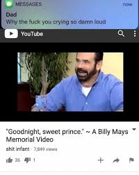 Billy Mays Meme - dopl3r com memes messages now dad why the fuck you crying so