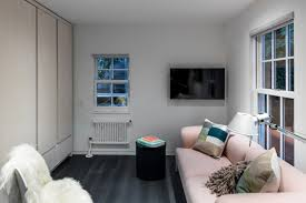 nyc micro apartment is transformed from drab attic into high