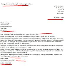 resignation letter format amazing creation resignation letter for