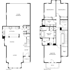 townhomes floor plans for new townhomes in marin ca