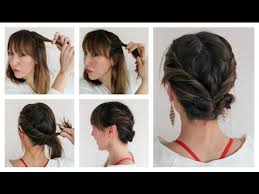 step by step easy updos for thin hair easy diy hairstyles for thin hair youtube