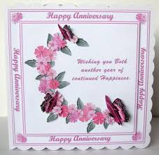 flowers and butterflies anniversary card cup340533 1566