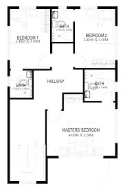 two bedroom floor plans house simple plan house design simple two bedrooms house plans for small
