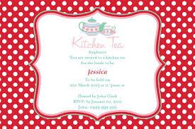 kitchen tea invites ideas tea cards free printable invitation design