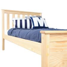 beautiful solid wood twin bed interior design and home
