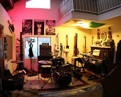 Home Music Studio Ideas by Interior Cool Home Music Studio Lighting Design With Colorful