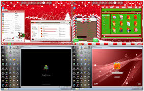 transform windows 7 to christmas with christmas skin pack techdows