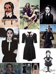 wednesday addams halloween costume style crush wednesday addams a clothes horse