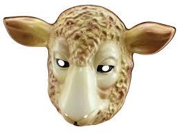 animal plastic masks partynutters uk