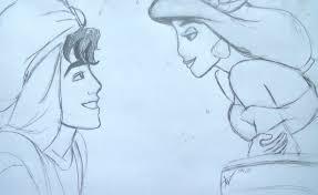 image gallery aladdin jasmine drawing