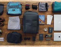 nomatic backpack and travel pack gadget flow