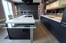 cuisine moderne avec ilot skconcept cuisine armony daumesnil moderne finition anthracite