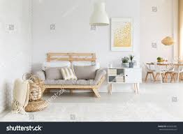 beige gold furniture decorations living stock photo