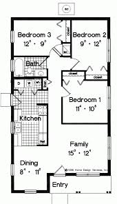 simple small house floor plans block construction home designs
