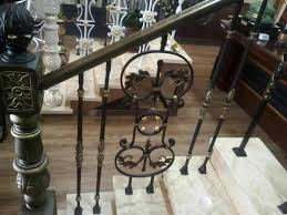 2016 latest modern used outdoor used wrought iron stair railing