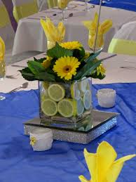 Yellow And Blue Decor Yellow And Blue Wedding Decorations Decorating Of Party