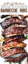 fall off the bone slow cooker barbecue ribs carlsbad cravings