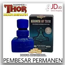 jual suplemen obat kuat pria hammer of thor 850mg asli pembesar