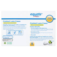 halloween contact lenses overnight shipping equate contact lens cases 6 ct walmart com