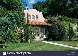 a view of one of the spanish colonial houses that can be found in
