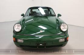 green porsche 1994 porsche 964 3 6 turbo paint to sample irish green sloan cars