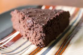 chocolate applesauce cake rich flavor with less fat