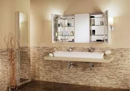 bathroom cabinets recessed medicine cabinet with lights bathroom