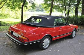 saab convertible red 89 saab 900 convertible classic car restoration center