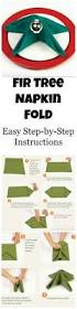 napkin folding for thanksgiving dinner fir tree napkin fold how to fold your napkin like a fir tree for