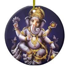 ganesh ornaments keepsake ornaments zazzle