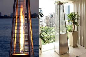 patio heater natural gas scoopon delivered natural gas outdoor pyramid heater