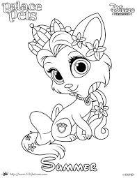 princess palace pet coloring page of summer skgaleana