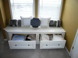 Storage Seating Bench Drawers Storage Benches Ikea Cozy Corner Window Storage Benches