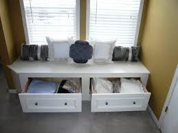 cozy corner window storage benches ikea home inspirations design