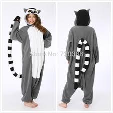 Monkey Halloween Costumes Mascot Halloween Novelty Animal Lemur Long Tail Monkey