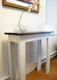 Diy Entry Table by Beautiful Dream Design Of Diy Console Table Playtriton Com