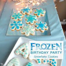 disney frozen snowflake cookies sisters crafting