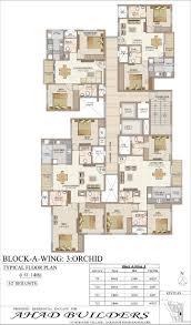 centralized floor plan ahad euphoria ahad builders