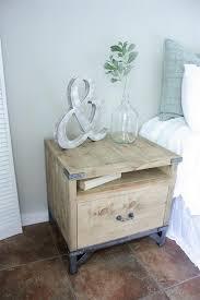 industrial nightstand buildsomething com