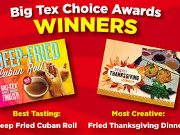 olive garden thanksgiving deep fried thanksgiving dinner wins texas state fair eater