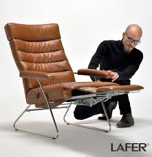 adele recliner chair by lafer modern recliners cressina